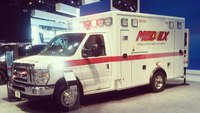High-tech pediatric ambulance debuts at auto show