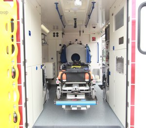 An interdisciplinary team used the mobile stroke unit to quickly assess the patient's needs ahead of arriving at the hospital, providing data for the study.