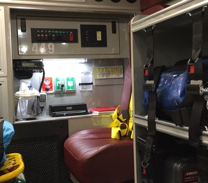 The EMS radio report to the hospital needs to be organized, clear, concise.