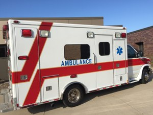 Many communities rely on volunteers to staff the ambulance. (Photo / Greg Friese)