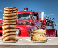 'Wildly successful' pancake fundraiser puts volunteer dept. 1 percent closer to new truck