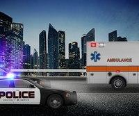 Ambulance crew taken on harrowing ride, police chase