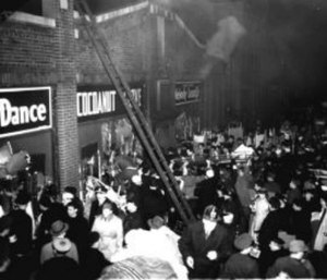 The Cocoanut Grove blaze was the second-worst single-building fire in American history.