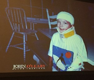 John O'Leary is a survivor of a gasoline explosion that burned 100 percent of his body and nearly killed him as a child. (Photo courtesy of Greg Friese)