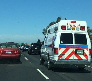 Most drivers are too distracted to realize an ambulance is nearby or approaching. (Photo/Greg Friese)