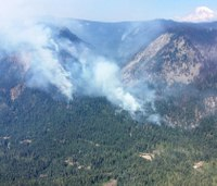 2 hunters cited after firing rifles toward wildland firefighters