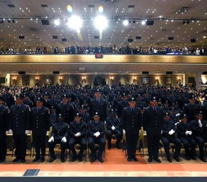 The 2019 FDNY graduation class is comprised of 301 newly sworn in firefighters. (Photo/FDNY)