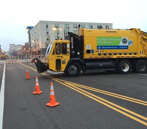 Municipal vehicles usually have official government graphics and color schemes that naturally act as deterrents to access. (Photo/Greg Friese)