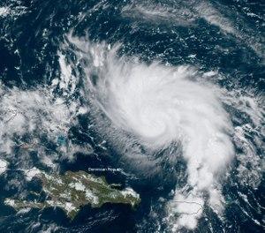 Hurricane Dorian is a Category 4 storm. (Photo/NOAA)