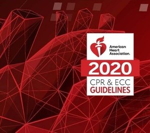 The American Heart Association has released its updated 2020 CPR guidelines in the journal Circulation. The new guidelines include 491 recommendations, including recommendations about responding to opioid-related cardiac arrests, encouraging lay person CPR in populations with historically low bystander CPR rates and using digital technology to facilitate CPR response. (Photo/American Heart Association)
