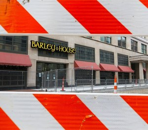 Establishing a Designated Outdoor Refreshment Area could help downtown Akron bars and restaurants like Barley House rebound from the decline in business caused by the Main Street construction and the coronavirus. The recently enacted proposal allows patrons to spread out on sidewalks and other designated areas to practice social distancing while enjoying a drink with friends.