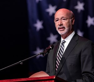 Pennsylvania Gov. Tom Wolf announced $50 million in COVID-19 grants for fire and EMS agencies on Thursday.