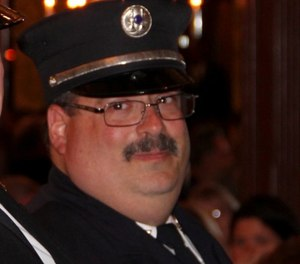 Valley Stream Firefighter-EMT Mike Field, who died in the line of duty in April due to COVID-19, will be honored with a memorial bridge named after him on Long Island. (Photo/Valley Stream Fire Department Facebook)