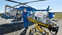 Fla. hospital unveils new pediatric helicopter