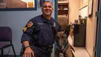 El Paso K-9 featured on 'Live PD' retires
