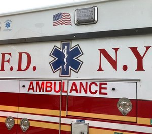 Two FDNY EMTs were robbed at gunpoint while responding to a fake 911 call on Saturday. This is the second time within a week that EMTs in New York City were robbed while responding to a bogus emergency.
