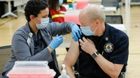 11 Ohio county fire chiefs roll up their sleeves for the vaccine