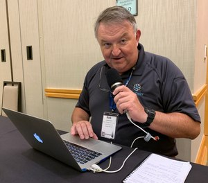 Through podcasts, social posts and articles, Rob Lawrence encourages collaboration and sharing to solve the problems challenging EMS.
