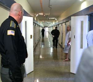 Staff and inmates at the Worcester County Jail and House of Correction will receive the coronavirus vaccine next week.