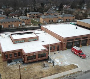 The Columbus Division of Fire's new Station 16 includes features to reduce carcinogen exposure and improve sleep health.