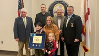 LEOs honor Ala. boy, 9, who rescued sister from carjacking