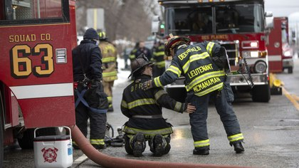 Protecting driver/operators from fireground health hazards