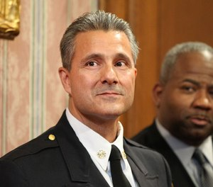 IAFF Local 93 has voted to censure Cleveland Fire Chief Angelo Calvillo (left) and has called for his dismissal, alleging numerous breaches of its collective bargaining agreement.