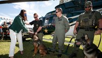 Fla. attorney general backs bill to allow medical transport of injured police K-9s