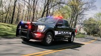 Ford launches new pursuit-rated pickup truck for police