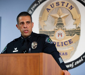 Assistant Chief Joe Chacon, seen here in 2018, has been an assistant chief for nearly five years.