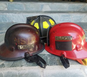 Personnel must be reminded that our helmets can sustain damage during real fires and even live-fire training, so we need to work to keep them intact for as long as possible – not purposefully rough them up for the sake of looking tough.