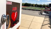 On-site AED saves Md. student athlete after lacrosse shot to chest