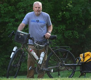 Retired law enforcement officer Chris Lowrance plans to bike across America and will dedicate his ride to raise awareness of Law Enforcement Suicides and First Responder Mental Health.