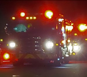 A Jacksonville firefighter suffered serious burns during an attempted rescue after firefighters were told there was someone still inside a burning home.