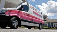 Pink rigs continue to raise awareness nearly 30 years after Va. EMS worker's cancer diagnosis