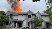 3 Pa. firefighters injured battling 3-alarm blaze