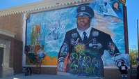 Mural honors Detroit firefighter, other front-line Detroiters killed by COVID-19