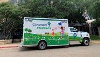 Texas hospital debuts state-of-the-art pediatric ambulance