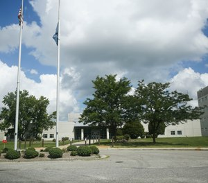 Hampton Roads Regional Jail is photographed in Portsmouth, Va., on Wednesday, July 8, 2020.