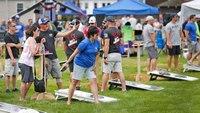 Cornhole tournament in memory of slain Mass. K-9 draws hundreds