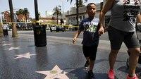 Man brandishing fake gun on Hollywood Boulevard is killed by police
