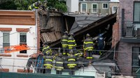 FFs rescue pinned NYC construction workers after partial roof collapse
