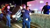 NY cop rescues baby from crash near George Washington Bridge