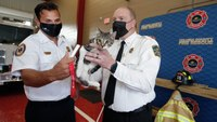 Fla. county enlists firefightersto help rescue lost pets with microchips
