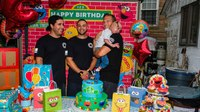 Toddler celebrates 2nd birthday with FDNY rescuers