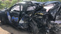 'Everyone's got families': Officer pleads for safer driving after 4 cops hurt