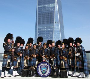 Port Authority Police Department's Pipe Band.