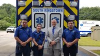 R.I. EMS team saves state police colonel after near-fatal wasp attack