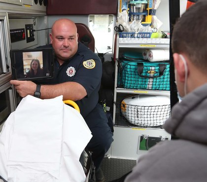 Ohio FD implements telehealth EMS program as part of CMS trial