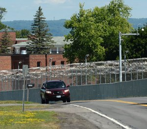 """""""Staff assaults, drugs and weapons are a recurrent theme at Mohawk Correctional Facility,"""" said Bryan Hluska of the New York State Correctional Officers and Police Benevolent Association."""
